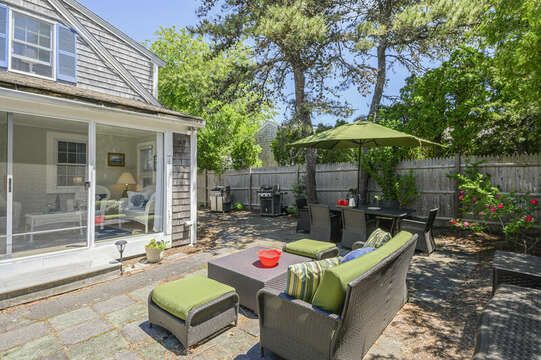 Enjoy this great outdoor space at-21 Pine Street- Harwichport- Cape Cod- New England Vacation Rentals