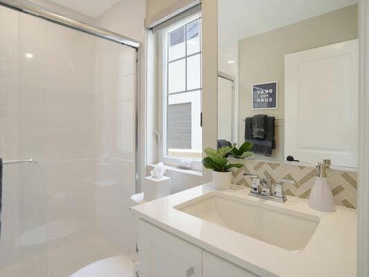 First Floor - Guest Bedroom - En-Suite Bathroom w/ Shower