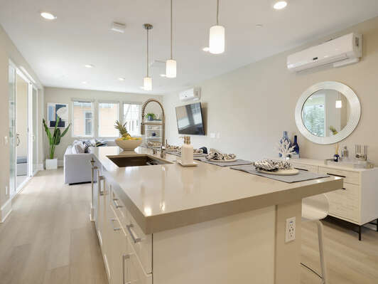 Second Floor - Fully Equipped Kitchen