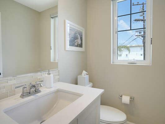 Second Floor - Half Bath