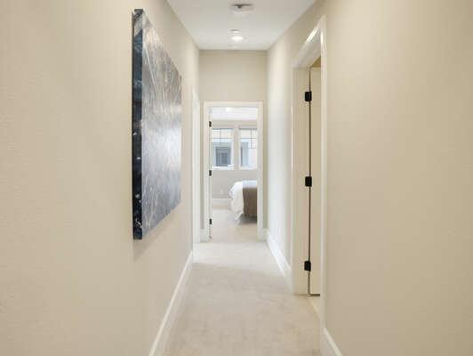 Third Floor Hallway to Bedrooms