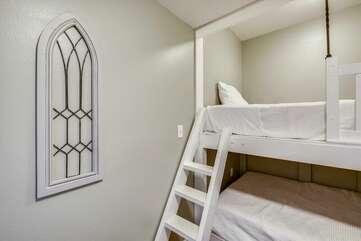 Full/full custom built bunk beds