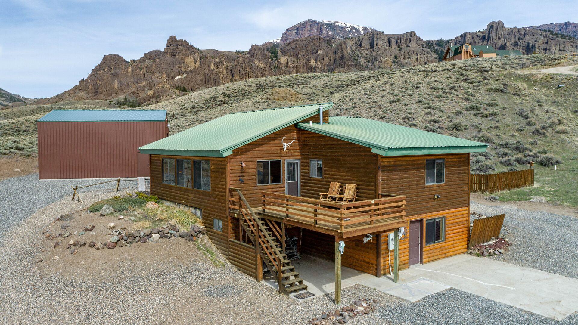 Jim Mountain Retreat Exterior