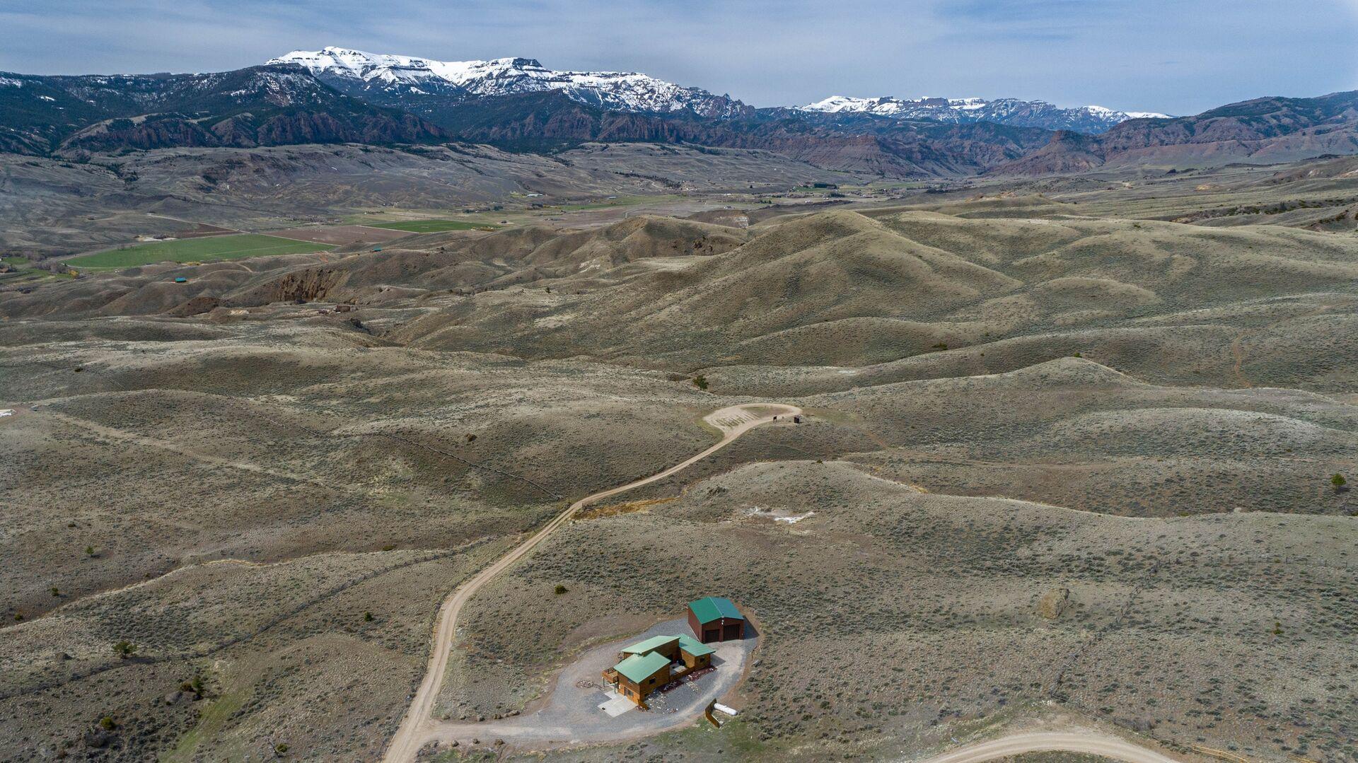 Jim Mountain Retreat to Jim Mountain Trail Head Distance