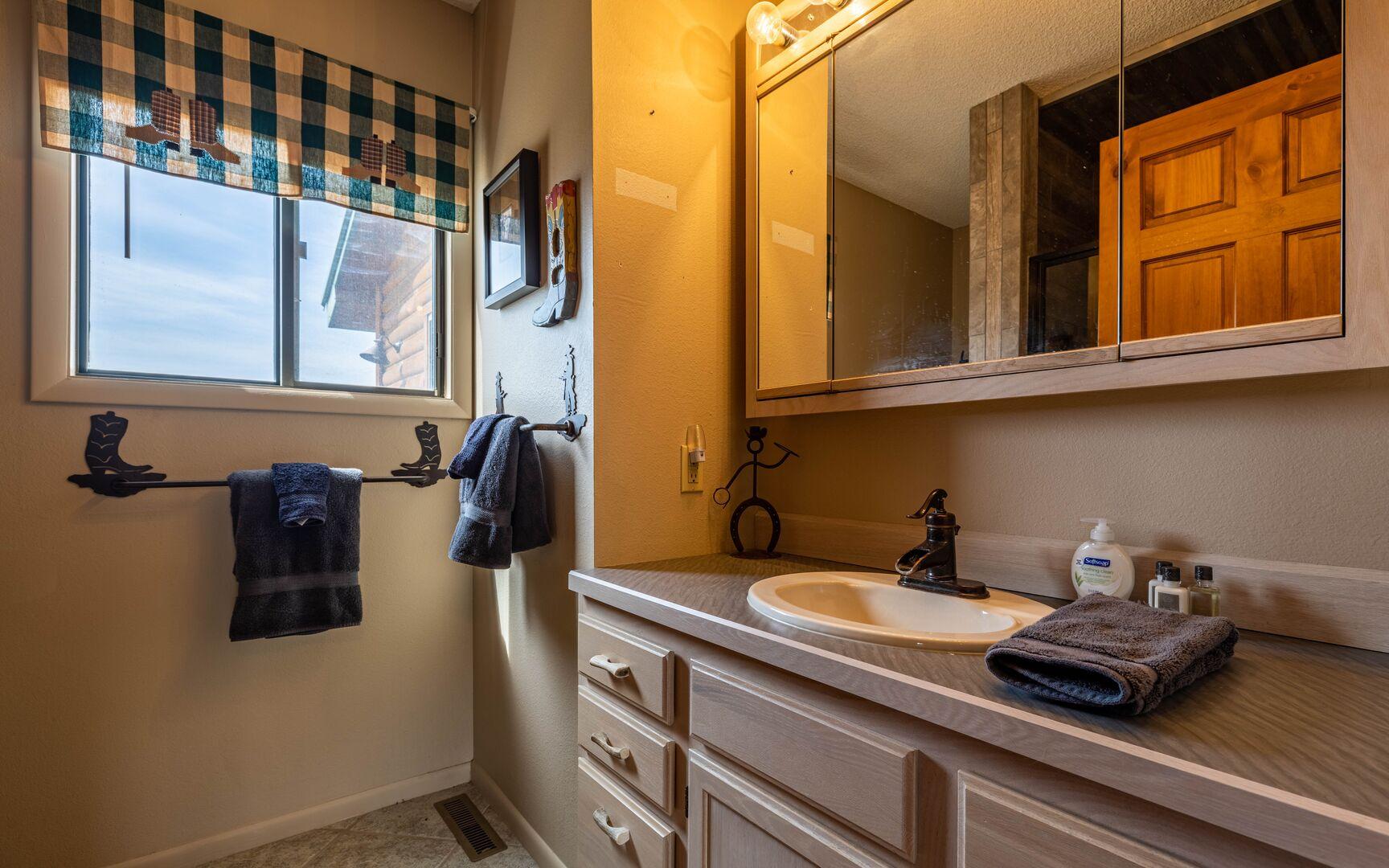 Bathroom 1 attached bath