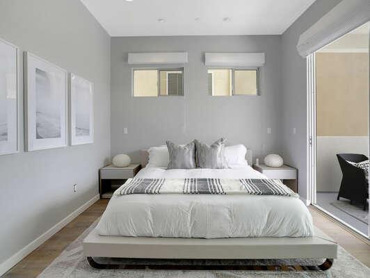 Master Suite w/ Balcony - 1st Floor (Entry Level)