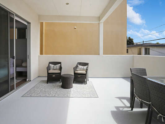 Balcony Off Master w/ Outdoor Dining & Seating - 2nd Floor