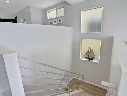 Top Stairs on 3rd Floor
