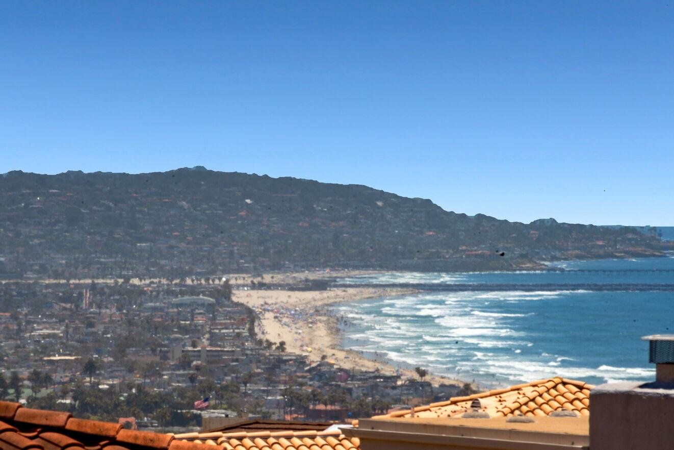 Amazing views of the ocean