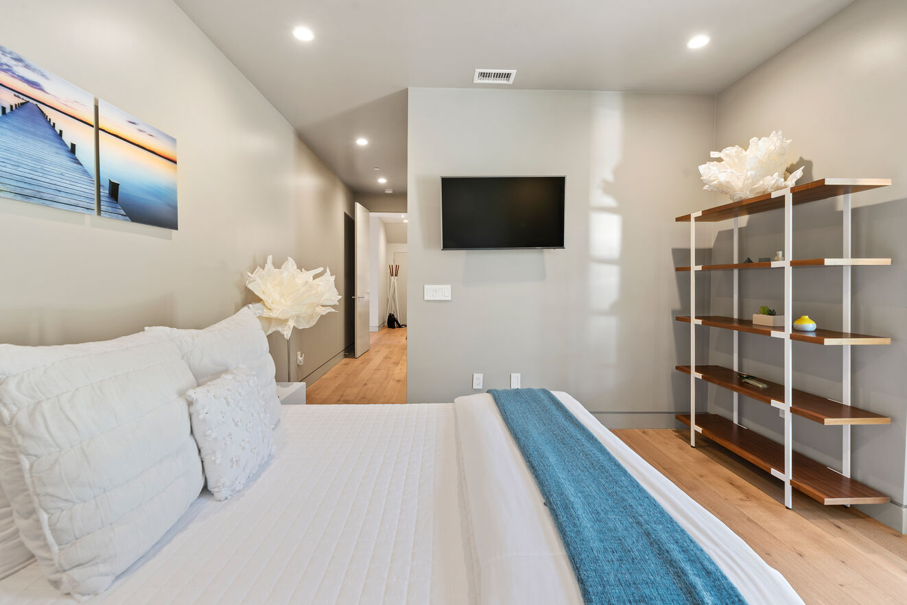 Bedroom #3 with ensuite bathroom and walk in closet