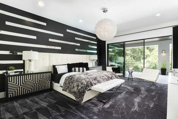 King-size Master Suite located on the first floor