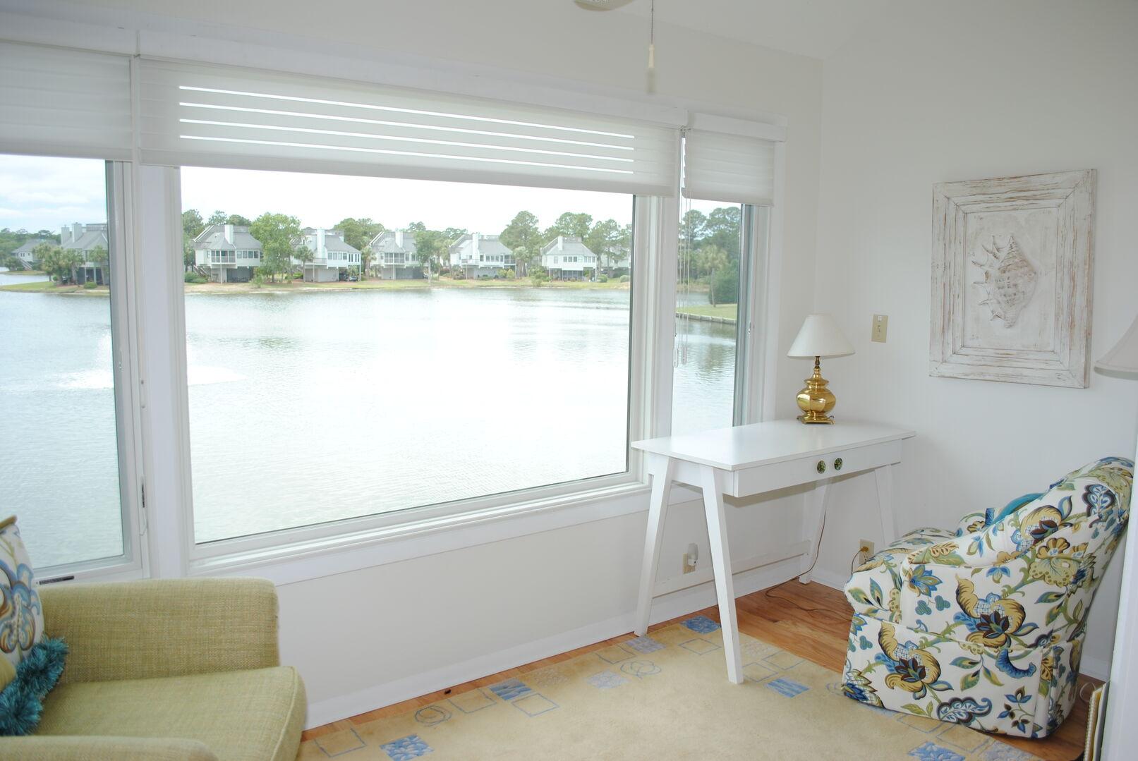Sun Porch in King Bedroom - First Floor