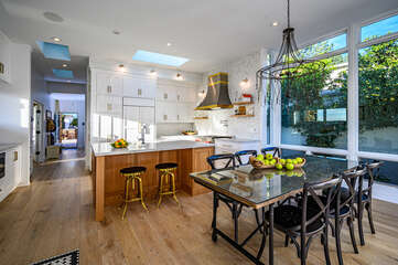 Spacious kitchen for the perfect gourmet meal.