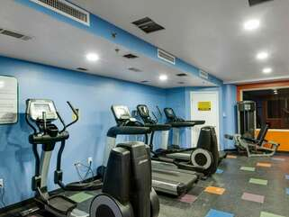 Fitness room on the 3rd floor