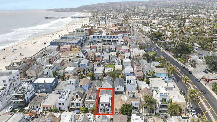 Aerial View - North Mission Beach