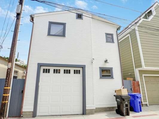 Exterior - Garage