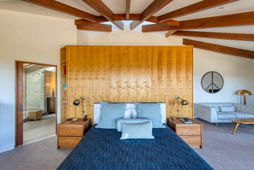 This massive master suite is your retreat away from it all