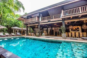 Villa Indo is another of the villas, a two-story villa a few steps from Santa Teresa Beach