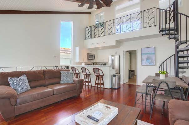 Living Area - 2nd Floor