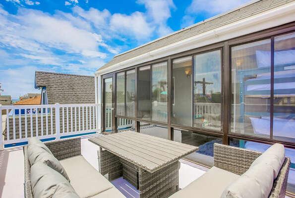 3rd Floor Deck w/ Bay and Ocean Views