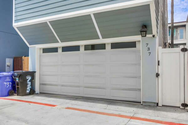 Exterior of Garage