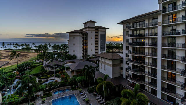 A Summer Sunset from Your Lanai