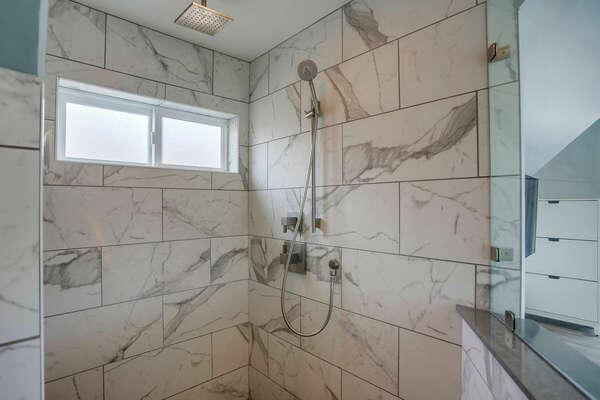 Master En-Suite Bathroom w/ Shower - 3rd Level