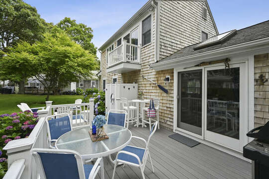 Perfect for entertaining and enjoying the Cape Cod breezes -  26 Sea Mist Lane South Chatham Cape Cod - New England Vacation Rentals