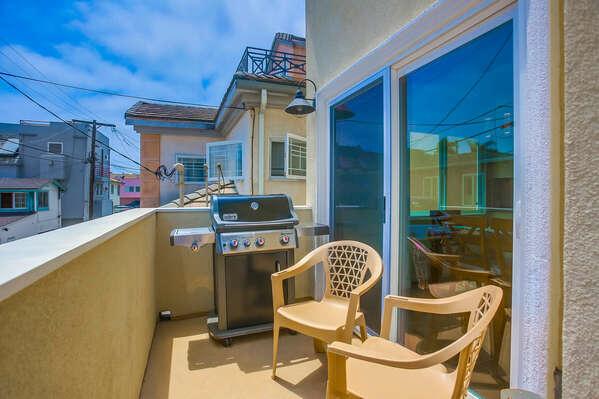 Balcony Off Living Area - 2nd Floor