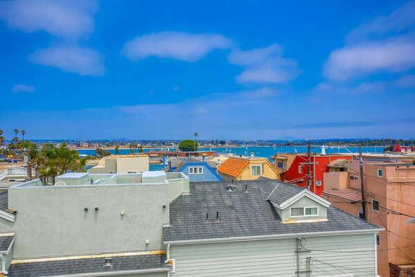 Roof Deck Bay Views