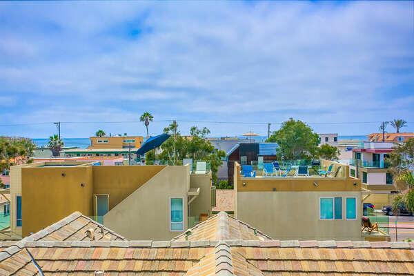 Roof Deck Ocean Views