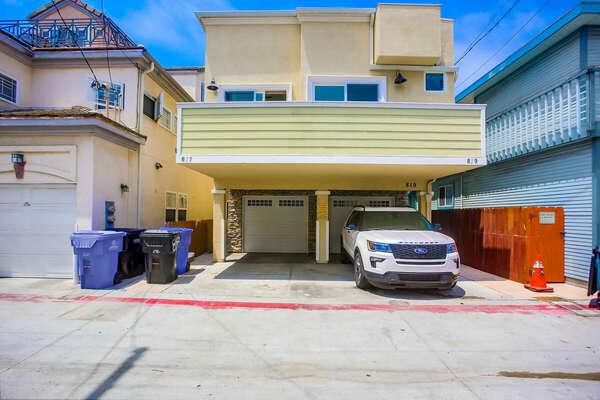 Parking- 1-Car Garage + Carport