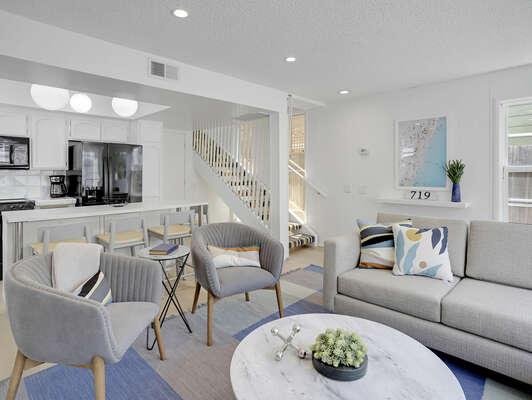Living Area - 1st Floor
