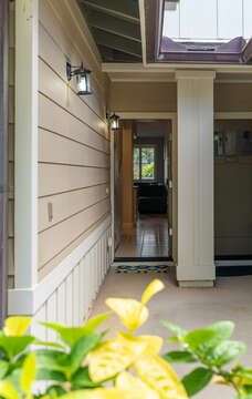 Private Entry to the Home