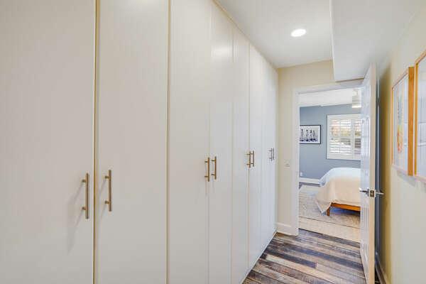 Hallway to Guest Bedroom - Entry Level (2nd Floor)