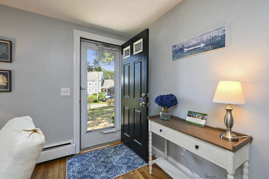 Front entry way - 113 South Street Harwich Port - Cape Cod - New England Vacation Rentals