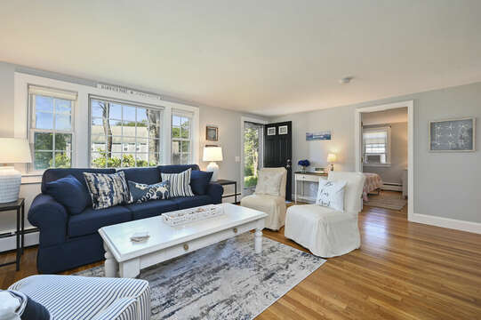 Living room looking to bedroom #1 - 113 South Street Harwich Port - Cape Cod - New England Vacation Rentals