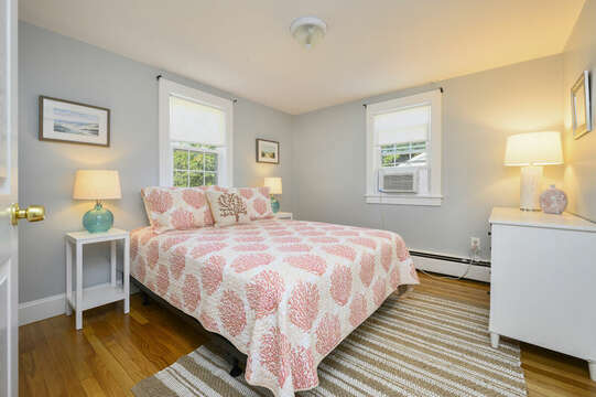 Bedroom #1- Queen bed - 113 South Street Harwich Port - Cape Cod - New England Vacation Rentals
