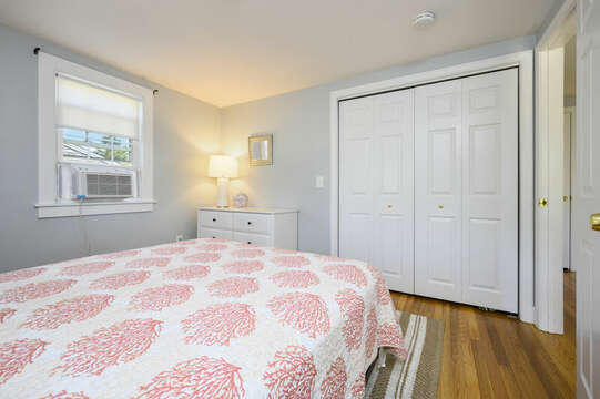 Bedroom #1 Queen bed - 113 South Street Harwich Port - Cape Cod - New England Vacation Rentals
