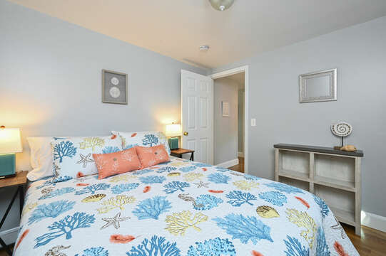 Bedroom #3 Queen Bed - 113 South Street Harwich Port - Cape Cod - New England Vacation Rentals
