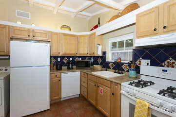This kitchen has all you need to cook up dinner for the whole family.