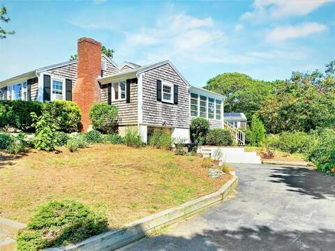 Garage under home at 113 South Street Harwich Port - Cape Cod - New England Vacation Rentals