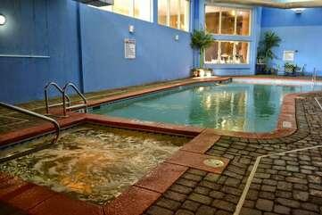 Indoor hot tub/pool