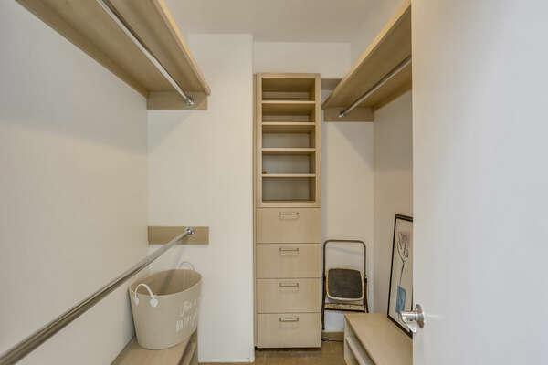 Master Walk-In Closet - 3rd Floor