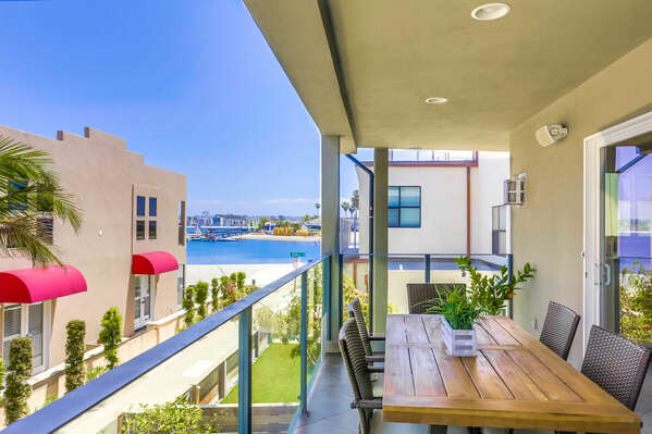 Outdoor Dining w/ Bay Views - 2nd Floor