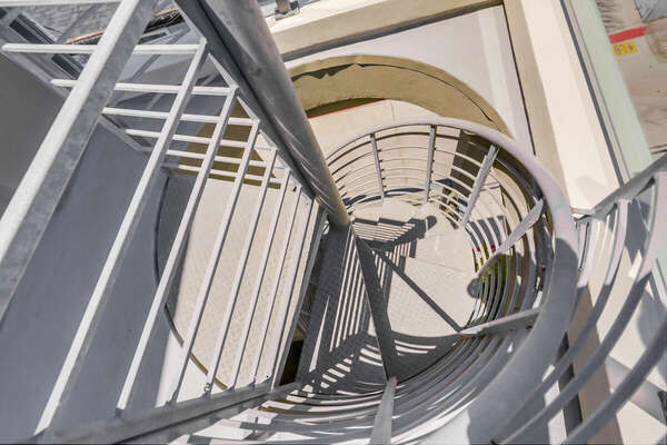 Spiral Staircase from 2nd to 3rd Floor