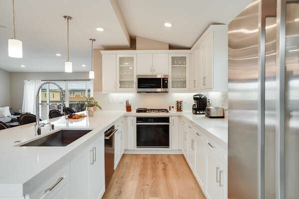 Fully Equipped Kitchen - 3rd Floor