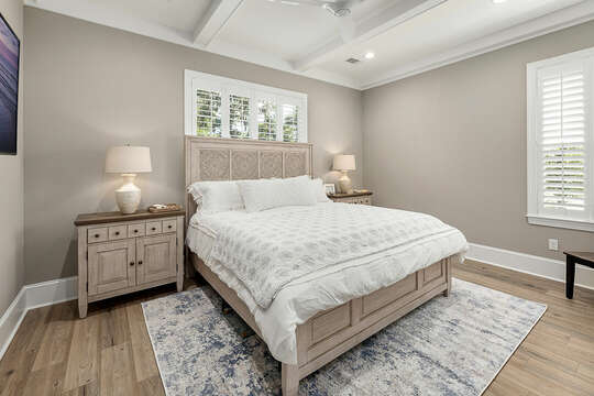 Master Suite is the perfect place to hide when you're ready to detach.