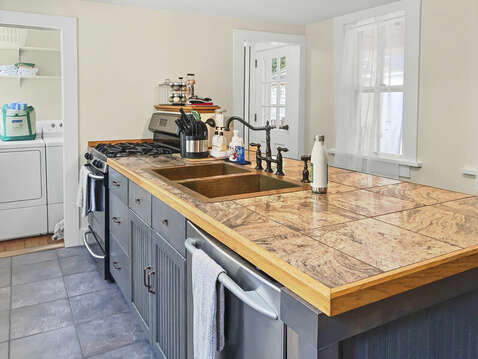 Modern amenities like dishwasher and washer/dryer - 98 West Road Orleans Cape Cod New England Vacation Rentals