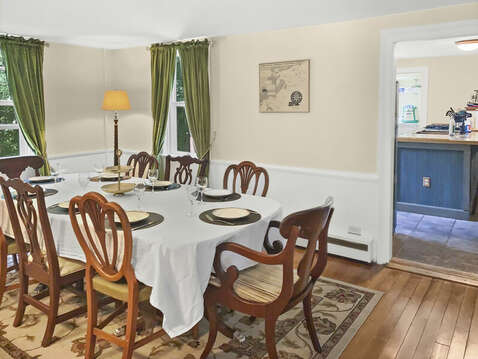 Casual dining is encouraged - 98 West Road Orleans Cape Cod New England Vacation Rentals